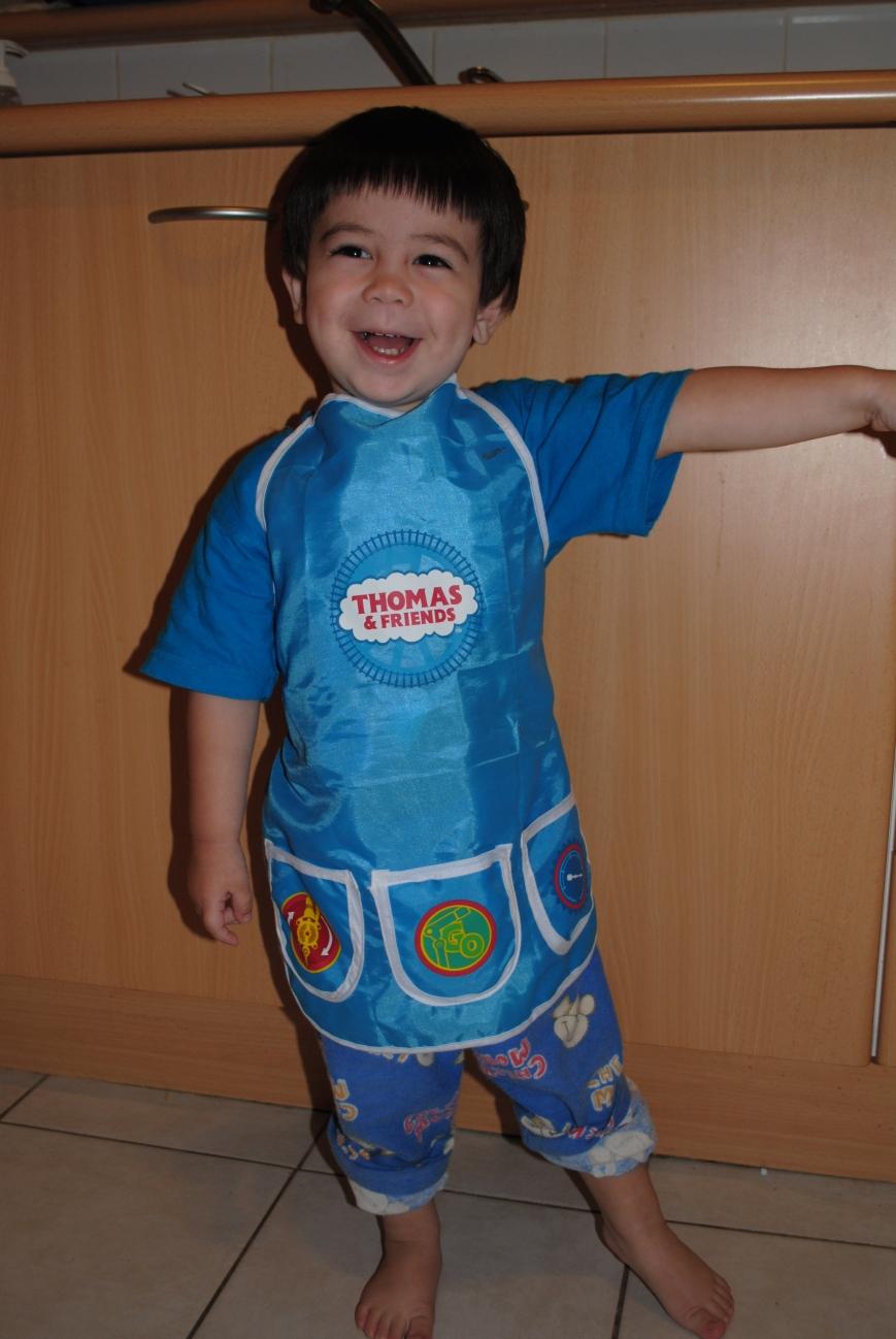 Josh in his apron