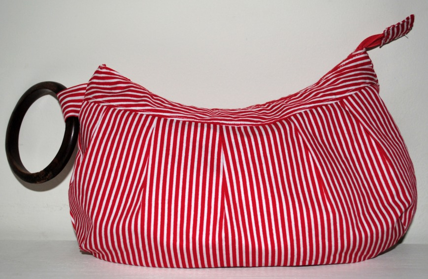 Buttercup Red Candy Wristlet