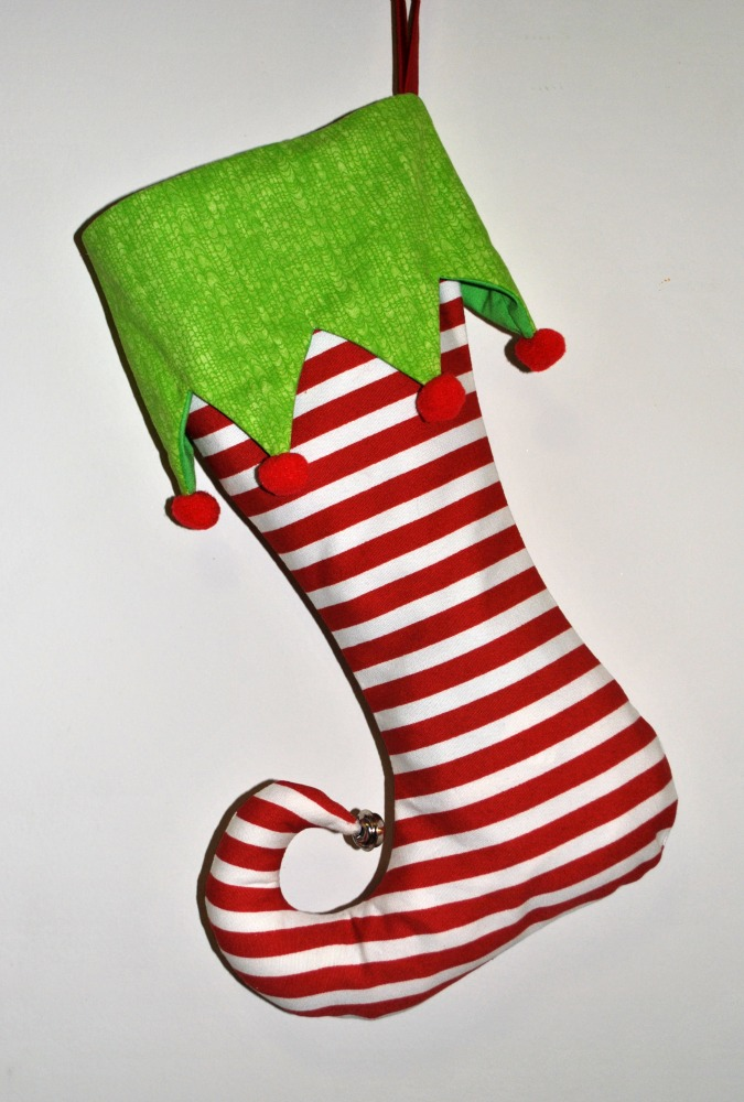 Christmas Elf Stockings | Cook You Some Noodles
