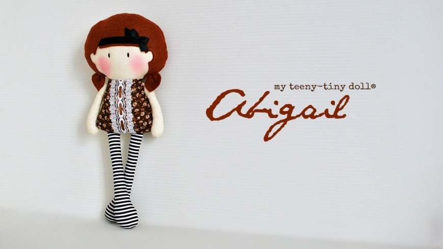 My Teeny-Tiny Doll® Abigail