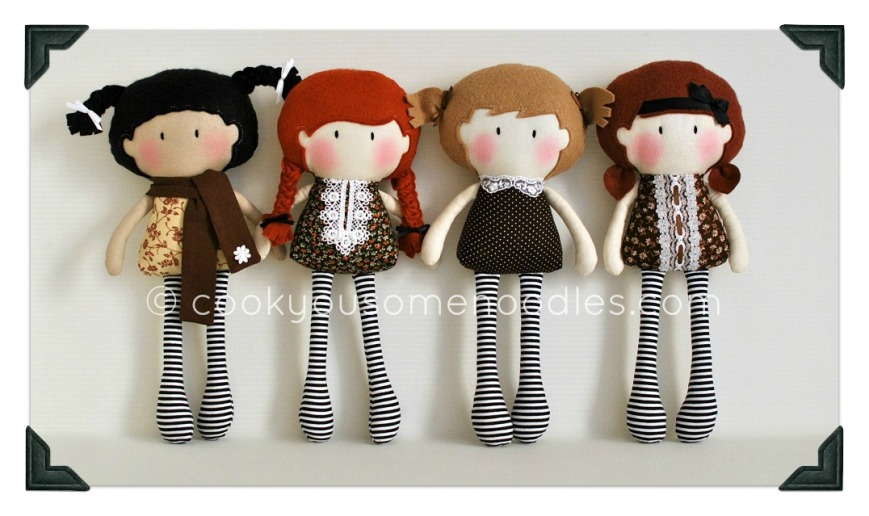 "My Teeny-Tiny Dolls® ""Flowers & Chocolate"" Collection"