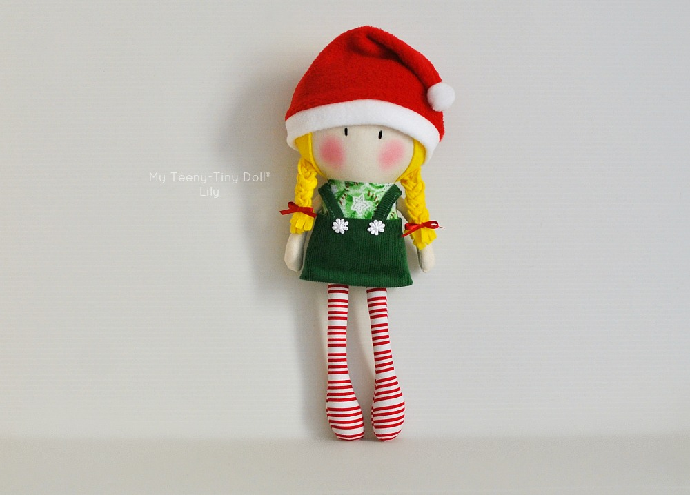 My Teeny-Tiny Doll® Christmas Lily