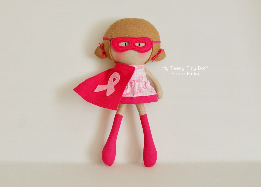 My Teeny-Tiny Doll® Super Pinky