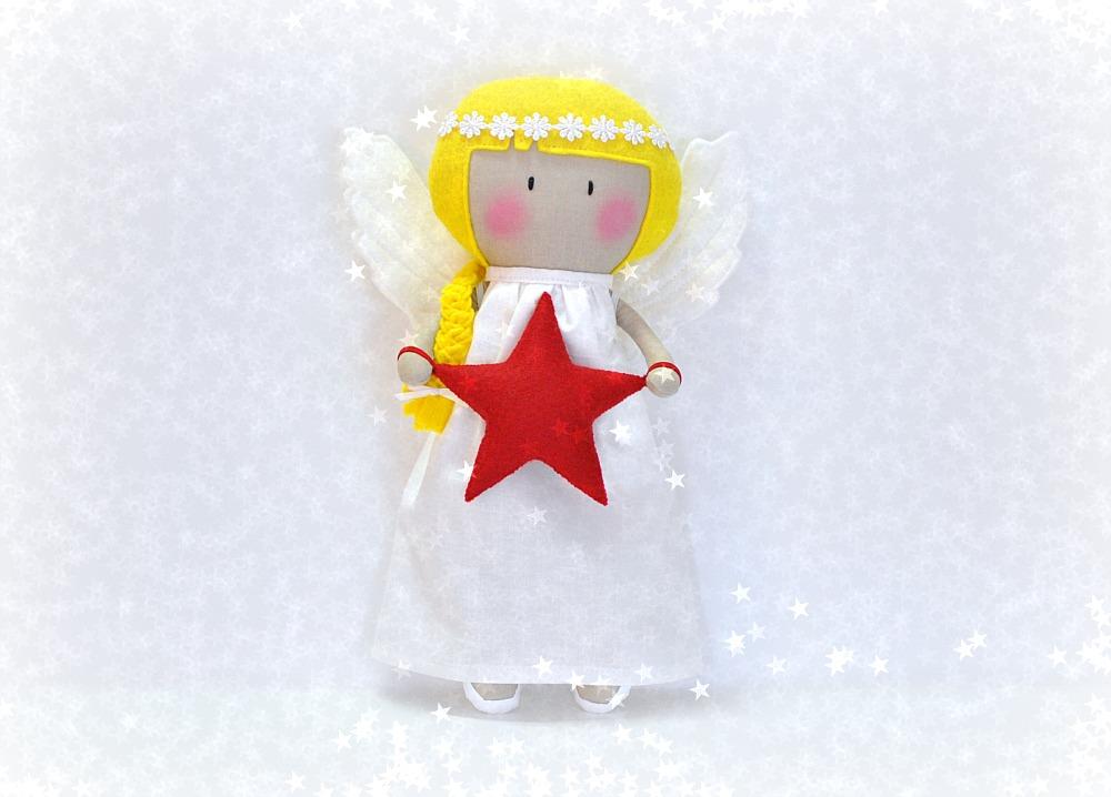 My Teeny-Tiny Christmas Angel Doll®