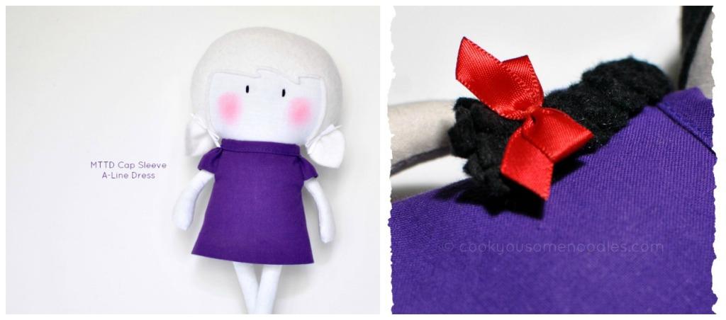 MTTD Cap Sleeve A-Line Dress