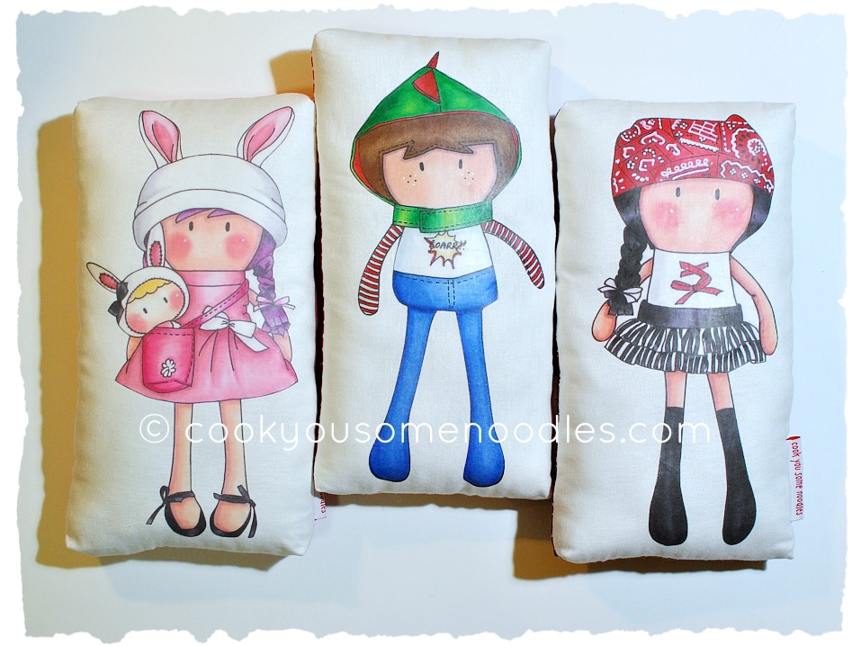 My Teeny-Tiny Doll® Hug Pillows