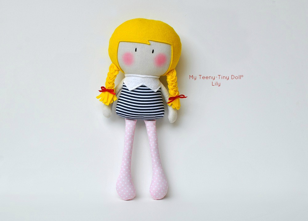 My Teeny-Tiny Doll® Lily