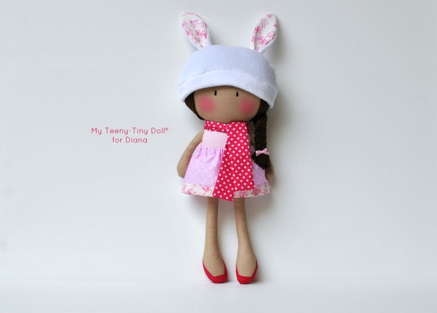 My Teeny-Tiny Doll® for Diana