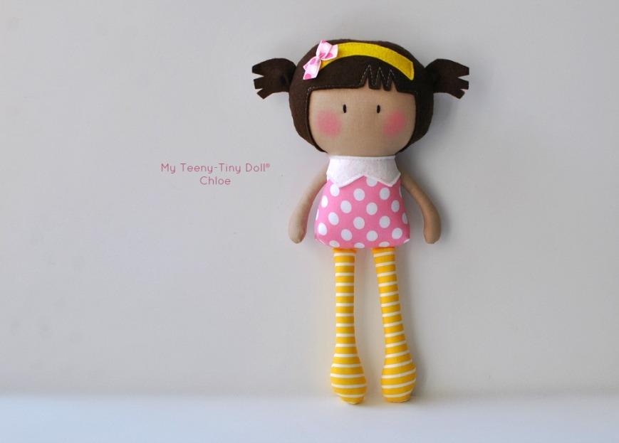 My Teeny-Tiny Doll® Chloe