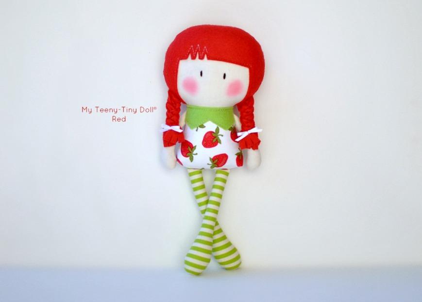 My Teeny-Tiny Doll® Red