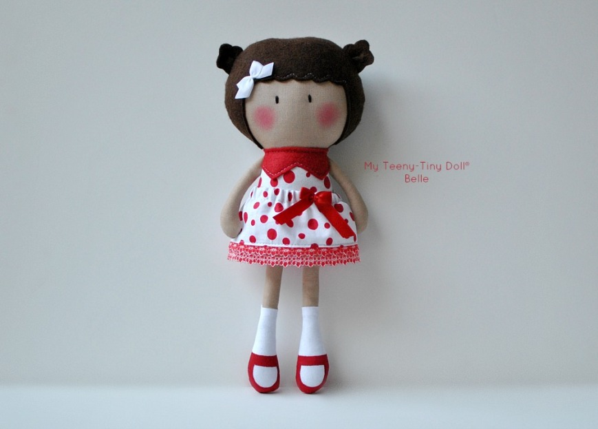 My Teeny-Tiny Doll® Belle
