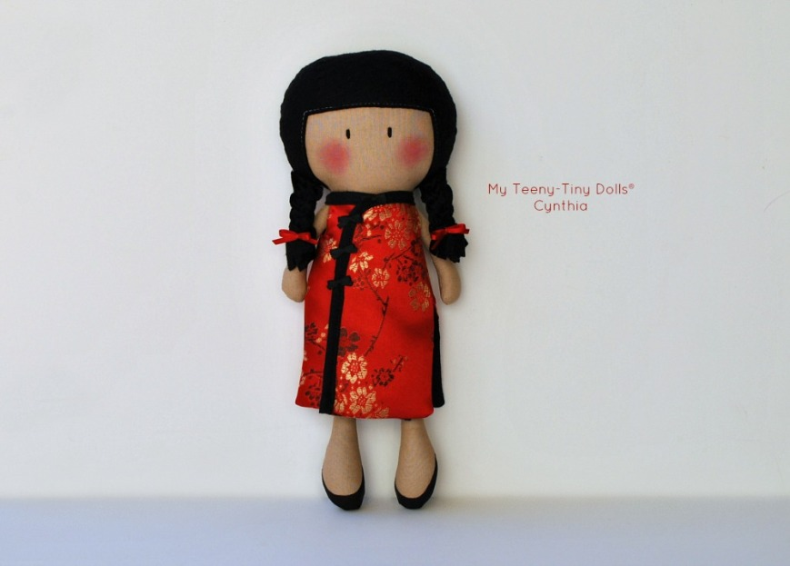 My Teeny-Tiny Doll® Cynthia