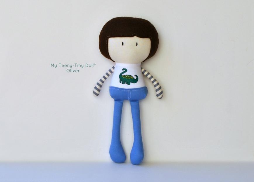 My Teeny-Tiny Doll® Oliver