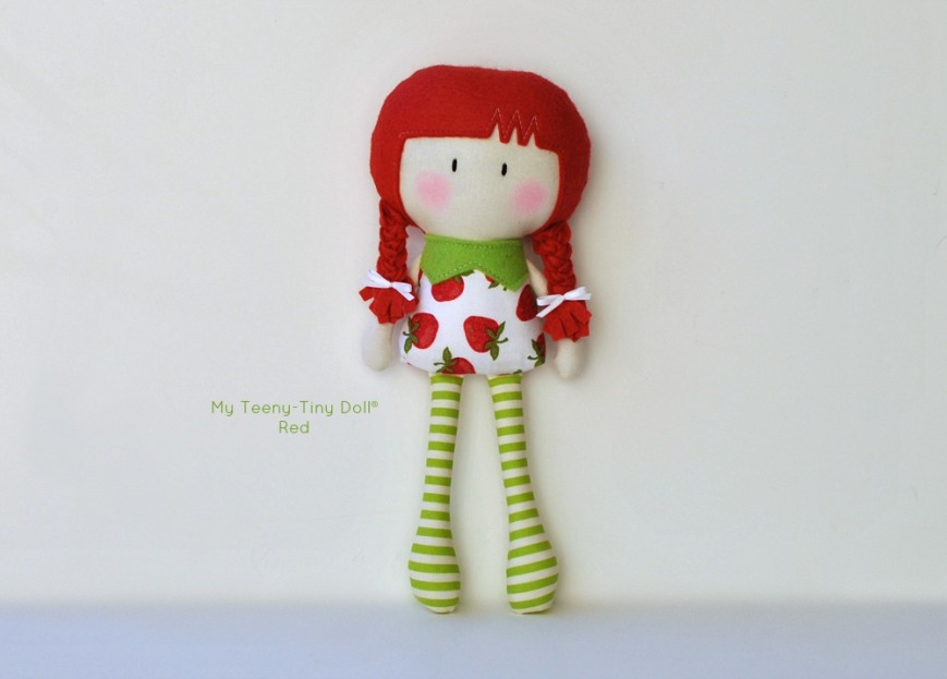 My Teeny-Tiny Doll® Red