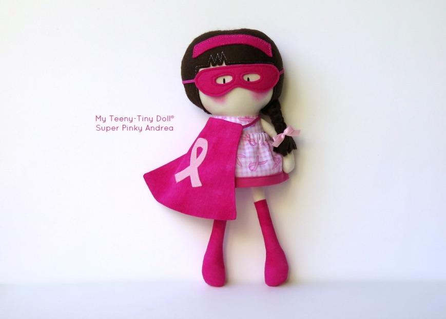 My Teeny-Tiny Doll® Super Pinky Andrea