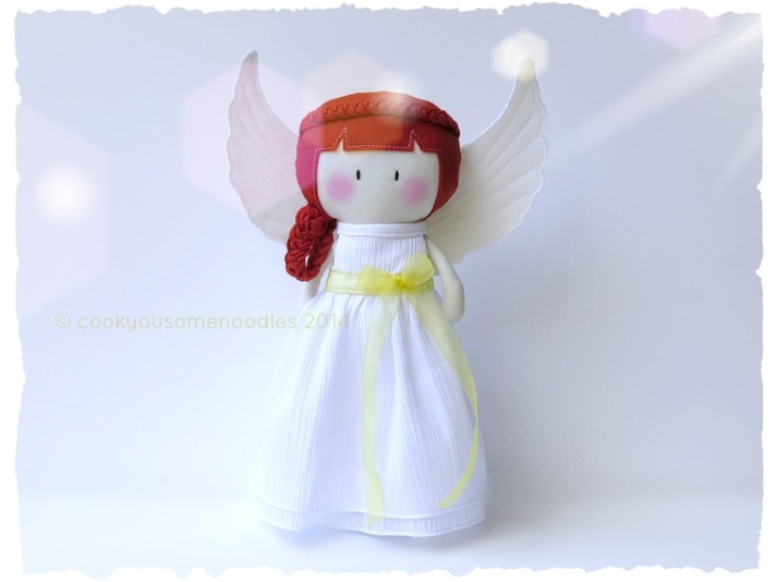 Reveal of the Red-Headed MTTD Christmas Angel